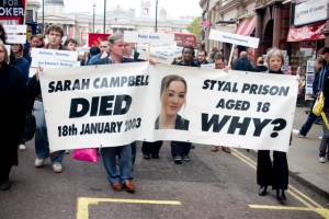Annual march in protest of custody deaths