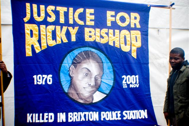 Who killed Ricky Bishop?