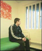 Youth in Prison Cell