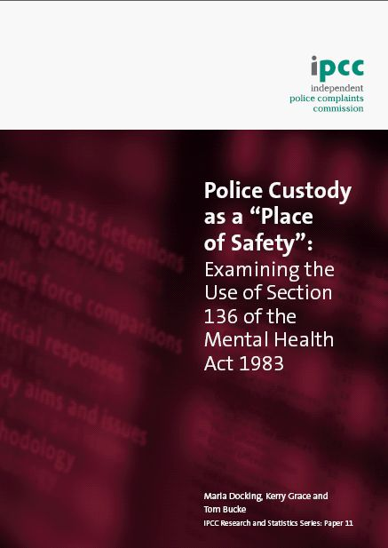 Places of Safety Report: IPCC