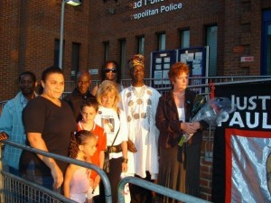Coker family vigil 6th August 2007