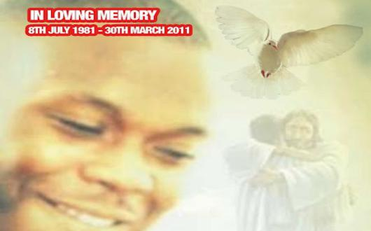 Protest: Kingsley Burrell still not buried 18 months after he died