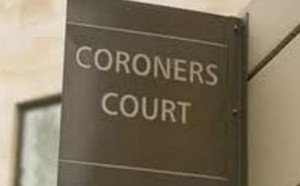 Coroners Court sign