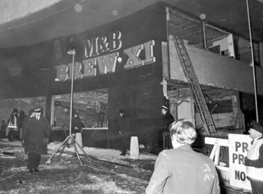 scene of birmingham pub bombing