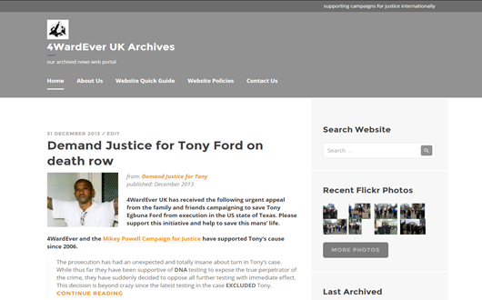 4WardEver UK News Archives in 2015