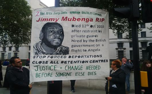 Demo - Justice for Jimmy Mubenga