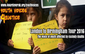 Youth Voices 4 Justice : Tour 2016