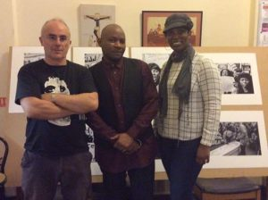 Tippa Naphtali with Ken Fero and Charmaine DifferentAnglez @ Youth Voices 4 Justice event - 9th Sept 2016