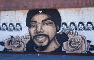 Eighth annual vigil in memory of Oscar Grant at Fruitvale Station