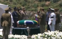 Mandela's farewell in ancestral home