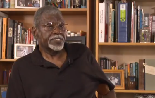 Black Panther Party co-founder Elbert 'Big Man' Howard