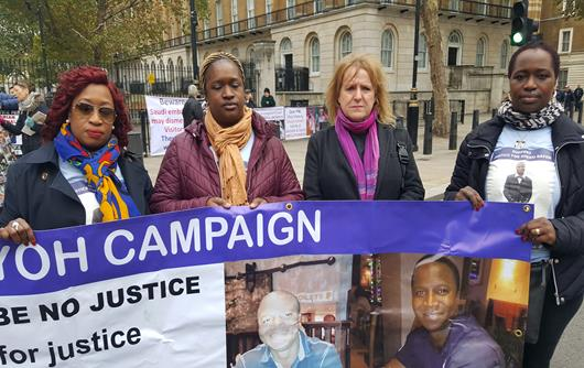 Justice 4 Sheku Bayoh @ UFFC Rally London 2018