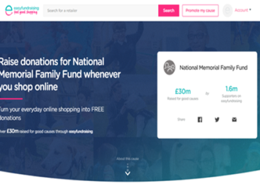 National Family Fund Fundraising - Easyfundraising