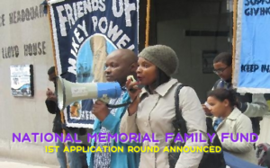 National Memorial Family Fund Round 1