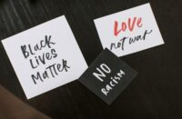 Black Lives Matter (BLM) No Racism Notes