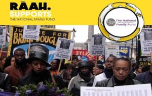 Bereaved families at annual rally