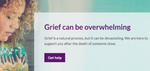 Cruse Bereavement Care banner