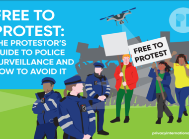 Free to Protest - Privacy-International-Guide promotional image